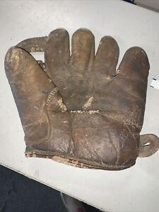 vintage Bill Rogell glove 1930's