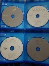 HUGE Disney DVD lot: Frozen Moana Beauty Beast 25th Lion King Tangled Toy Story