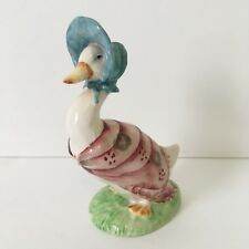 Beswick England Beatrix Potter's JEMIMA PUDDLEDUCK F. Warne & Co. Figurine BP-3b