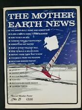 Mother Earth News No. 25 January 1974 Vintage Original Copy
