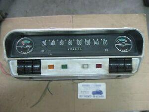 Opel Rekord A B Tachometer Speedometer Dashboard Kombiinstrument cluster LH Side
