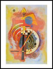 Mark Rothko Yellow Blue on Orange Poster Bild Kunstdruck im Alu Rahmen 100x70cm