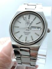 OMEGA AUTOMATIC SEAMASTER COSMIC 2000 STAINLESS STEEL ORIGINAL BRACELET & DIAL