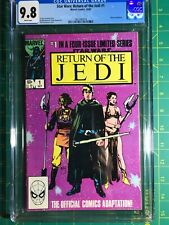 Return of the Jedi #1 CGC 9.8 1st Slave Leia & Movie Jabba The Hutt White Pages