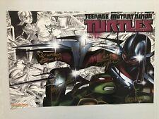 Teenage Mutant Ninja Turtles Signed Cast Poster Comic Con 2014 Exclusive NEW