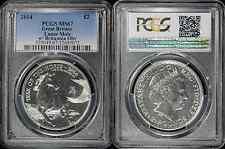 *2014 Lunar Britannia MULE ERROR £2 UK Horse Silver Coin PCGS MS67 - RARE*