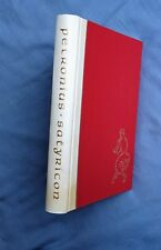 LEC: THE SATYRICON OF PETRONIUS,  ILLUSTRATED BY ANTONIO SOTOMAYOR SIGNED 1964