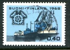 Finland Stamps Scott #478 Ships Emblem Chamber of Commerce 1968