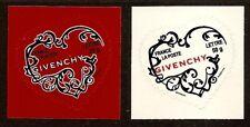 FRANCE 2007 Autoadhésifs n° 102 et 103 COEURS de GIVENCHY Neufs** LUXE MNH