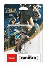 Link Rider Amiibo Legend Of Zelda Breath Of The Wild Figure Nintendo Switch WiiU
