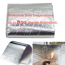Heat Shield Mat Belly Fairing Motorcycle Insulation for hood Fiberglass Cotton