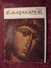ESQUIRE December 1962 LILLIAN HELLMAN AUDREY WOOD MONIQUE VAN VOOREN Philip Roth