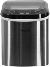 Magic Chef 27 lb. Portable Countertop Ice Maker in Stainless Steel