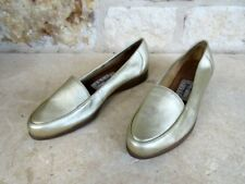 Worthington Sport Concorde Women's Gold Slip-On Loafers Shoes Size 6 1/2 M