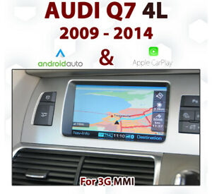 Audi Q7 4L 2009-14 3G MMi Audio Integrated Touch Android Auto & Apple CarPlay