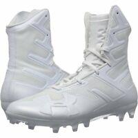 Under Armour Highlight MC High Mens Football Cleats 3000177-100 White