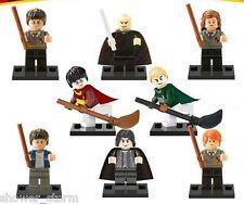 8 Pcs Harry Potter (code 61) Mini Figures NEW UK Seller Fits Lego