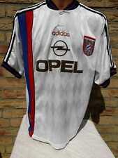 FC Bayern München Trikot adidas 1996/96 XL Away Jersey Shirt Camiseta weiß Opel