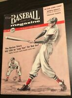 1956 BASEBALL MAGAZINE ROBIN ROBERTS TED WILLIAMS KUROWSKI LUKE APPLING JUNE HOF
