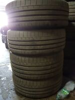 X2 255/35/19 + X2 225/40/19 Continental Contact Sport 6 Tyres! Not Runflat
