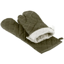 """2 Oven Mitts  Flame Retardant 17""""  FREE SHIPPING USA ONLY"""