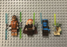 Lego Star Wars Jedi Minifigure Lot Of 4 Figures, Keel, Saesee, Aayla, Yoda