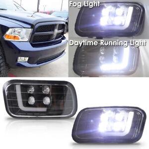 Fits 2009-2012 Dodge Ram Driver + Passenger Side Fog Light Lamp Assembly 1 Pair
