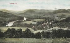 Aerial View of Lanesboro Pa Old