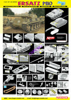 DRAGON 6561 1/35 scale Ersatz M10 [Bonus:dream track] 2019 new TANK MODEL KIT