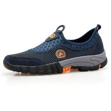 Men Large Size Outdoor Casual Sneakers Color:Dark Blue,Size:US 10.5 (EU 45)