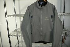 Arc'teryx Arcteryx Polartec Fleece Lined Soft Shell Jacket Coat Men's Large Gray
