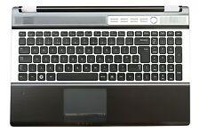 New Samsung RF510 RF511 Top Housing Case Palmrest With UK Keyboard BA75-02676A