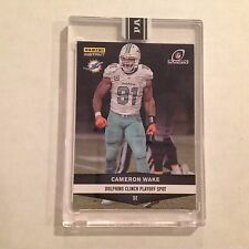#449 Cameron Wake Dolphins / Penn State 2016 Panini Instant Black 1/1 made