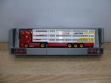 1:87 , Herpa 923392 Hefter Scania R09 Viehtransporter