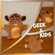 Gant de toilette Marionnette Disney - Kovu - le roi lion - Ref C1