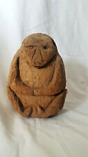 Monkey made from Coconut Shell Hand Carved Collectible Home Decor Gift