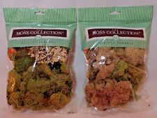Quality Growers Variety Pack Moss, 108.5 Cubic Inch - 2 Packs