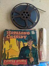 Hopalong Cassidy 16 MM Film, Lost Mine - Original Box, Castle Films