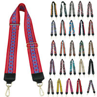 Replacement Shoulder Bag Strap Adjustable Colorful Handbag Belt Rivets Accessory