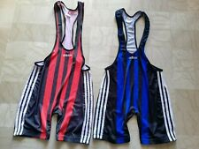 SIZE L - rare vintage Brute Adidas wrestling singlet trikot suit NO shoes nike