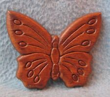 Butterfly Wood Magnet, Souvenir, Travel, Refrigerator