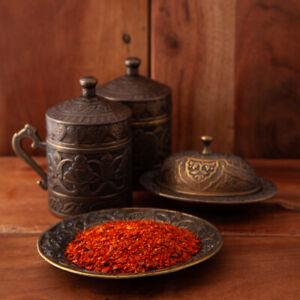Dried Chilli - Genuine Syrian Aleppo Pepper Flakes 100g Free UK P & P