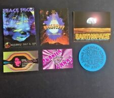 Vintage RAVE Flyers - EARTHSPACE, EVOLUTION, FUNKY BUDDHA,  PEACE FROG (Lot 136)