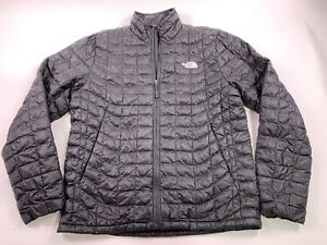 The North Face Men's Thermoball Jacket Medium Gilet Quilted TNF Black Coat Snow