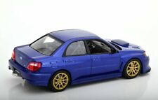 Subaru Impreza WRX STI 2010 blau metallic Diecat 1:24 Welly