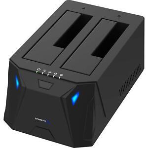 Sabrent EC-HD2B USB 3.0 to SATA I/II/III Dual Bay External HDD / SSD Docking STN