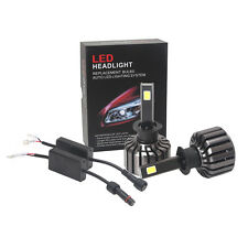 New H7 80W 8000LM CREE LED Headlight Kit Beam Bulbs 6000K Replace Halogen Xenon