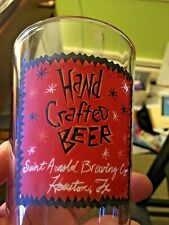 Saint Arnold Brewing Co.Texas Oldest Craft Brewery SANTO 16 oz. Pint Beer Glass!