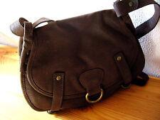 Damenhandtasche Saddlebag braun Schulterhandtasche Handtasche Shopper