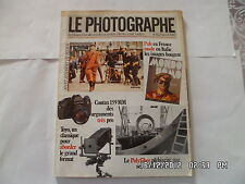 LE PHOTOGRAPHE  N°1423 AVRIL 1985 PUB EN FRANCE MODE EN ITALIE CONTAX 159    D29